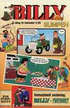 Cover for Billy [Bilag til Fantomet #9/1989] (Semic, 1989 series)