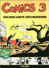 Cover for Comics - Weltbekannte Zeichenserien (Carlsen Comics [DE], 1971 series) #3