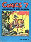 Cover for Comics - Weltbekannte Zeichenserien (Carlsen Comics [DE], 1971 series) #7