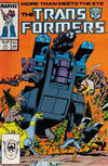 Cover for The Transformers (Marvel, 1984 series) #27 [Direct]