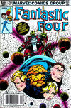 Cover Thumbnail for Fantastic Four (1961 series) #253 [Newsstand Edition]