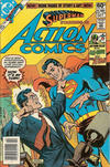 Cover for Action Comics (DC, 1938 series) #524 [Newsstand]