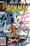 Cover Thumbnail for Iron Man (1968 series) #176 [Newsstand]
