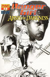 Cover Thumbnail for Danger Girl and the Army of Darkness (2011 series) #1 [Paul Renaud Black & White Retailer Incentive Cover]