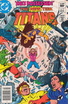 Cover for The New Teen Titans (DC, 1980 series) #17 [Newsstand]