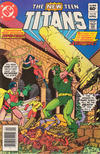 Cover for The New Teen Titans (DC, 1980 series) #18 [Newsstand]