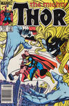 Cover Thumbnail for Thor (1966 series) #345 [Newsstand]