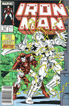 Cover for Iron Man (Marvel, 1968 series) #221 [Newsstand]