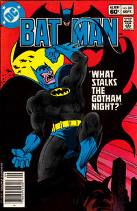 Cover Thumbnail for Batman (DC, 1940 series) #351 [Newsstand Edition]