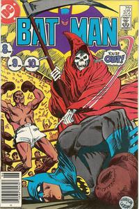 Cover Thumbnail for Batman (DC, 1940 series) #372 [Newsstand]