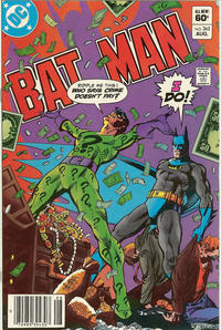 Cover Thumbnail for Batman (DC, 1940 series) #362 [Newsstand]