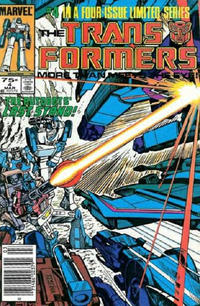 Cover Thumbnail for The Transformers (Marvel, 1984 series) #4 [Newsstand Edition]