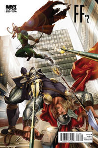 Cover Thumbnail for FF (Marvel, 2011 series) #2 [Thor movie promotion variant]