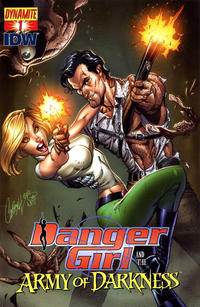 Cover Thumbnail for Danger Girl and the Army of Darkness (Dynamite Entertainment, 2011 series) #1