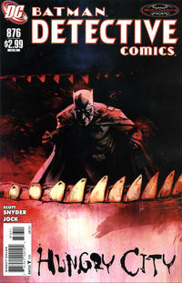 Cover Thumbnail for Detective Comics (DC, 1937 series) #876