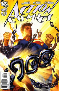 Cover Thumbnail for Action Comics (DC, 1938 series) #900 [Adam Hughes Variant]