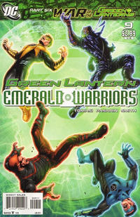 Cover Thumbnail for Green Lantern: Emerald Warriors (DC, 2010 series) #9