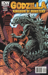 Cover for Godzilla: Kingdom of Monsters (IDW, 2011 series) #2 [Cover A]