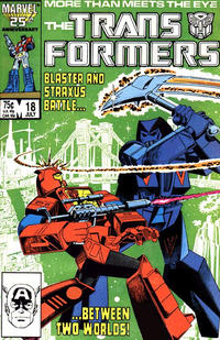 Cover Thumbnail for The Transformers (Marvel, 1984 series) #18 [Direct Edition]