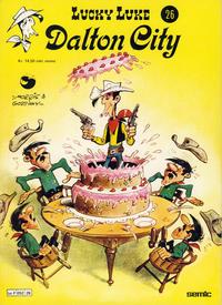 Cover for Lucky Luke (Semic, 1977 series) #26 - Dalton City [1. opplag]