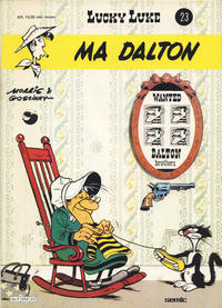 Cover Thumbnail for Lucky Luke (Semic, 1977 series) #23 - Ma Dalton [1. opplag]