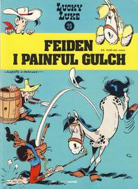 Cover Thumbnail for Lucky Luke (Semic, 1977 series) #20 - Feiden i Painful Gulch [1. opplag]