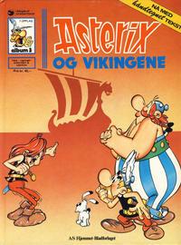 Cover Thumbnail for Asterix [hardcover] (Hjemmet / Egmont, 1984 series) #3 - Asterix og vikingene