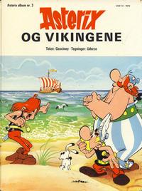 Cover Thumbnail for Asterix [hardcover] (Hjemmet / Egmont, 1970 series) #3 - Asterix og vikingene