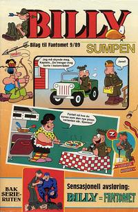 Cover Thumbnail for Billy [Bilag til Fantomet #9/1989] (Semic, 1989 series)