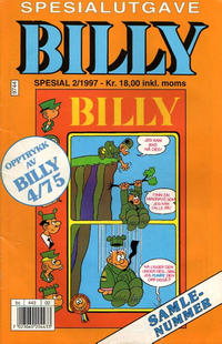 Cover Thumbnail for Billy Spesial (Semic, 1992 series) #2/1997
