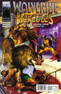 Cover for Wolverine / Hercules: Myths, Monsters & Mutants (Marvel, 2011 series) #2