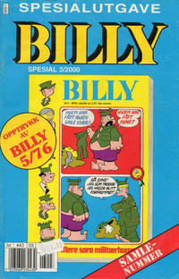 Cover Thumbnail for Billy Spesial (Hjemmet / Egmont, 1998 series) #3/2000