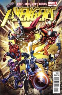 Cover Thumbnail for Avengers (Marvel, 2010 series) #12.1