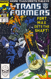 Cover Thumbnail for The Transformers (Marvel, 1984 series) #39 [Direct]