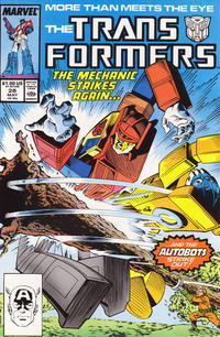 Cover Thumbnail for The Transformers (Marvel, 1984 series) #28 [Direct]