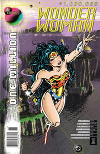 Cover Thumbnail for Wonder Woman (DC, 1987 series) #1,000,000 [Newsstand]