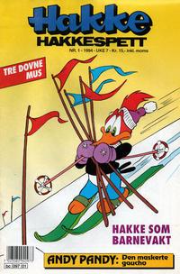 Cover Thumbnail for Hakke Hakkespett (Semic, 1977 series) #1/1994