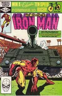 Cover Thumbnail for Iron Man (Marvel, 1968 series) #155 [direct edition]