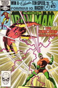 Cover for Iron Man (Marvel, 1968 series) #154
