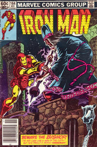 Cover for Iron Man (Marvel, 1968 series) #164 [Newsstand Edition]