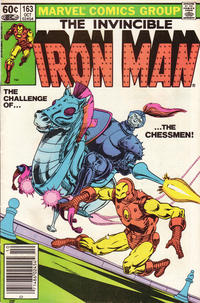 Cover Thumbnail for Iron Man (Marvel, 1968 series) #163 [Newsstand Edition]