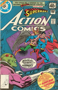 Cover Thumbnail for Action Comics (DC, 1938 series) #491 [Whitman]