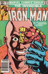 Cover Thumbnail for Iron Man (Marvel, 1968 series) #167 [Newsstand]