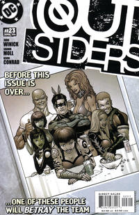 Cover Thumbnail for Outsiders (DC, 2003 series) #23 [Direct Sales]