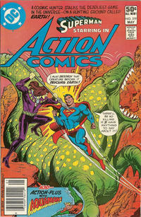 Cover Thumbnail for Action Comics (DC, 1938 series) #519 [Newsstand]