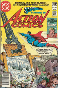 Cover Thumbnail for Action Comics (DC, 1938 series) #518 [Newsstand]