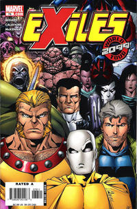 Cover Thumbnail for Exiles (Marvel, 2001 series) #76 [Direct Edition]