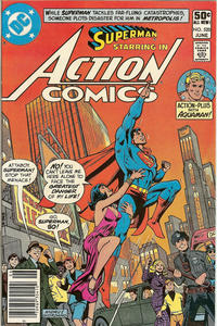Cover Thumbnail for Action Comics (DC, 1938 series) #520 [Newsstand]