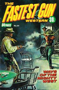 Cover Thumbnail for The Fastest Gun Western (K. G. Murray, 1972 series) #20