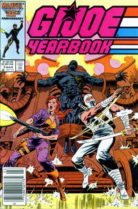 Cover Thumbnail for G.I. Joe Yearbook (Marvel, 1985 series) #3 [Newsstand Edition]